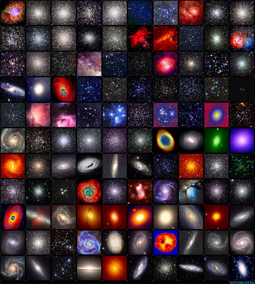 Le catalogue de Messier