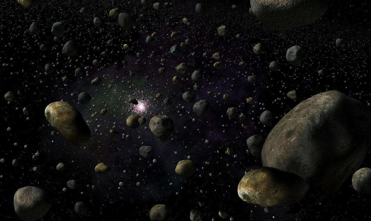La ceinture d astéroïde - Le système solaire 62cc5953d49