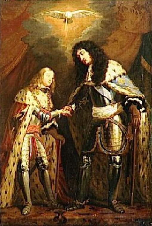 Charles II and louis xiv