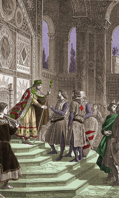 tancrede pendant lexpedition jerusalem histoire