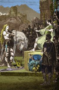 Vercingétorix se rend à César