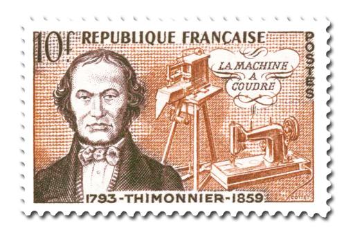 Barthélemy Thimonnier (1793 - 1857)