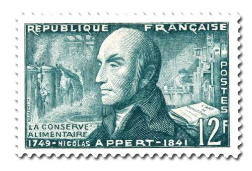 Nicolas Appert (1749 - 1841)