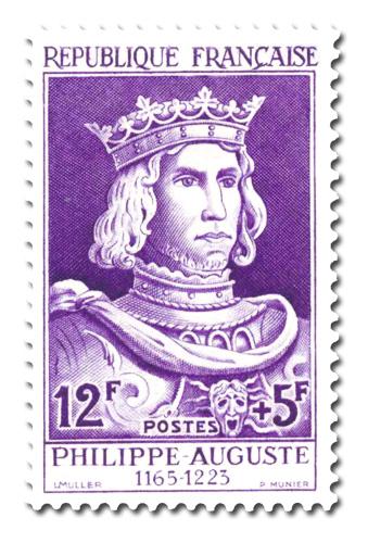 Philippe Auguste (1180 - 1223)