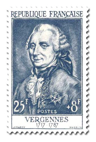 Comte de Vergennes (1717 - 1787)