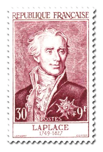 Marquis de Laplace (1749 - 1827)