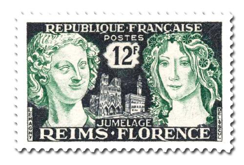 Jumelage Reims - Florence