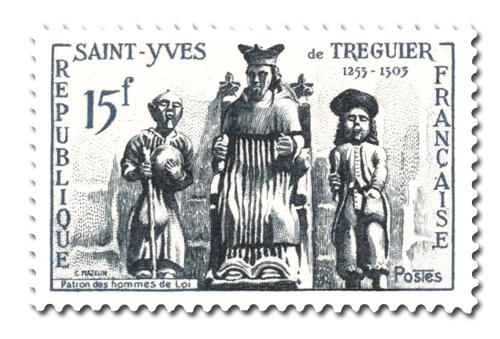 Saint-Yves de Tréguier, patron des hommes de Loi