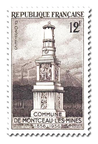 Erection en commune de Montceau-les-Mines