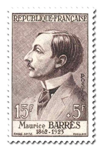 Maurice Barrès (1862 - 1923)