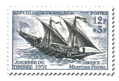 Journée du timbre 1957