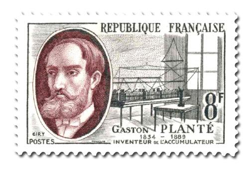 Gaston Planté (1834 - 1889)
