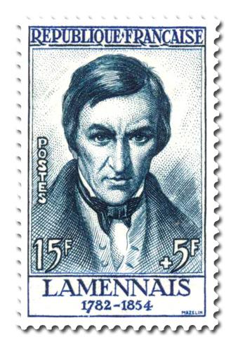 Robert de Lamennais (1782 - 1854)