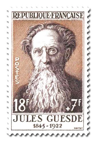 Jules Guesde (1845 - 1922)
