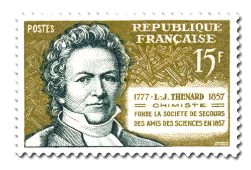 Louis-.Jacques. Thénard (1777 - 1857)