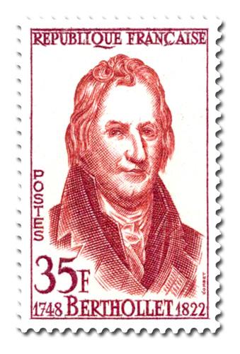 Claude-Louis Berthollet (1748 - 1822)