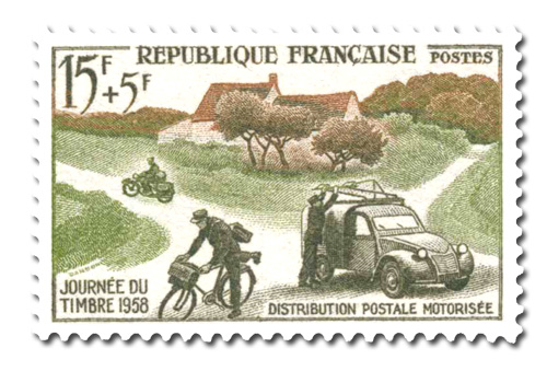 Journée du timbre 1958