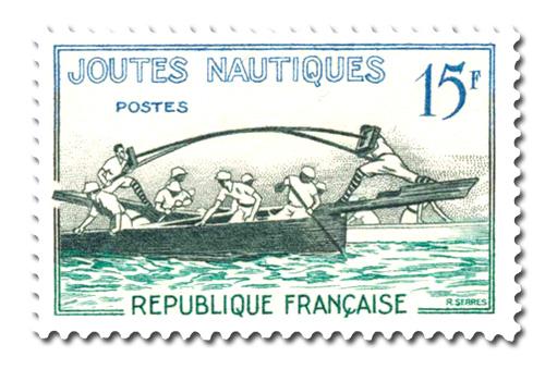Jeux traditionnels  -  Joutes nautiques