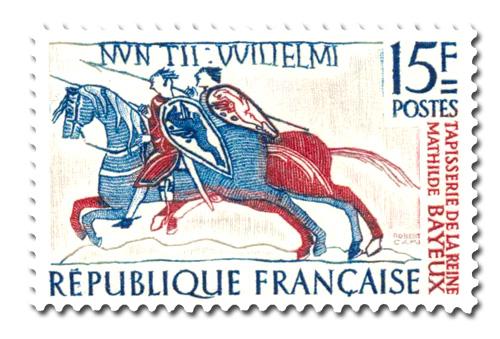 Tapisserie de la reine Mathilde à Bayeux