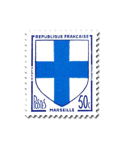 Armoiries des villes de France (III)  -  Marseille
