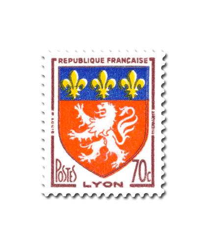 Armoiries des villes de France (III)  -  Lyon