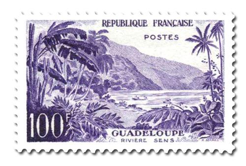 Rivière Sens, à la Guadeloupe