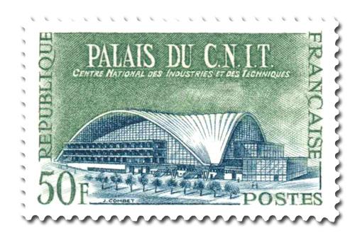 Palais du C.N.I.T - Centre National des Industries te des Techniques.