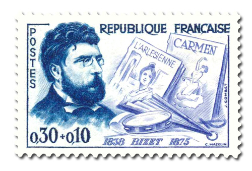 Georges Bizet ( 1838 - 1875)