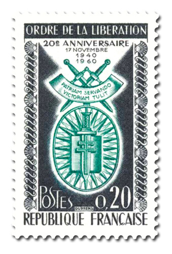 Ordre de la Libération (17 novembre 1940)