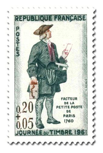 Journée du timbre 1961