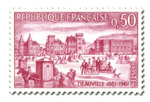 Deauville en 1861