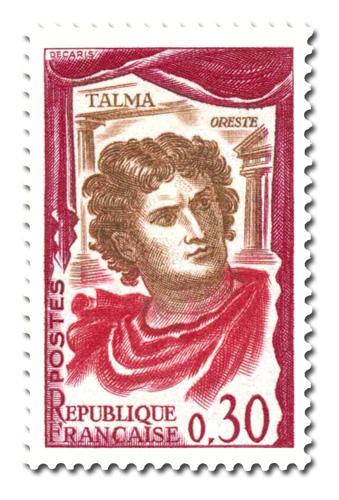 Talma dans le rôle d'Oreste