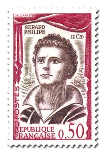 Gérard Philippe dans le rôle du Cid