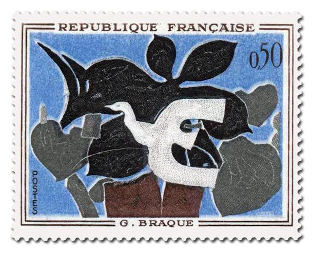 Le Messager  -  G. Braque (1882 - 1963)