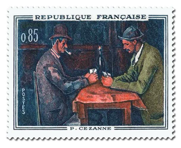 Les Joueurs de cartes, de Paul Cézanne (1839 - 1906)