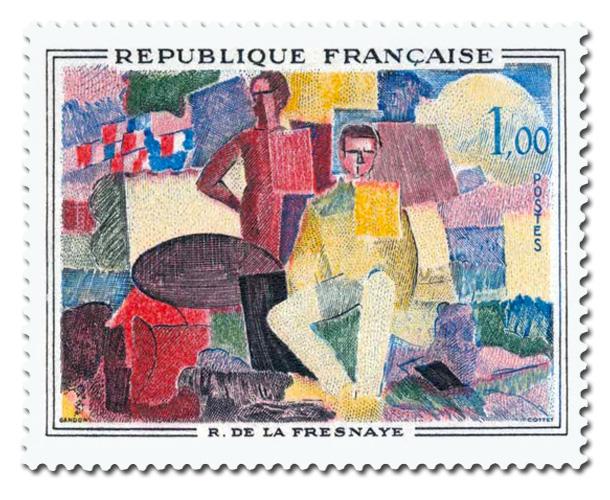 14 juillet de R. de La Fresnaye (1885 - 1925)