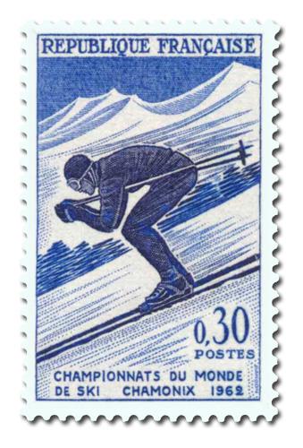 Championnats du monde de ski à Chamonix. ( Descente)