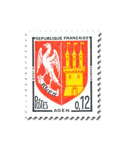 Armoiries des villes de France (IV)  -  Agen