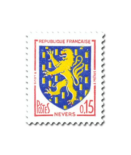 Armoiries des villes de France (IV)  -  Nevers -
