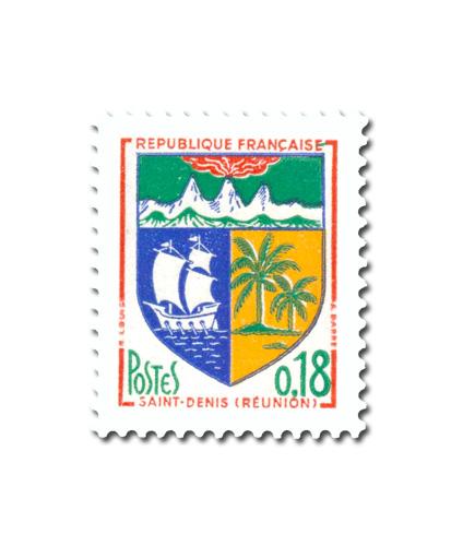Armoiries des villes de France (IV)  -  Saint-Demis de La Réunion