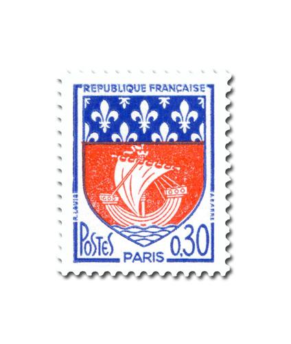 Armoiries des villes de France (IV)  -  Paris -