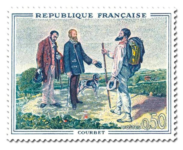Bonjour M. Courbet  - de Coubet (1819-1877)