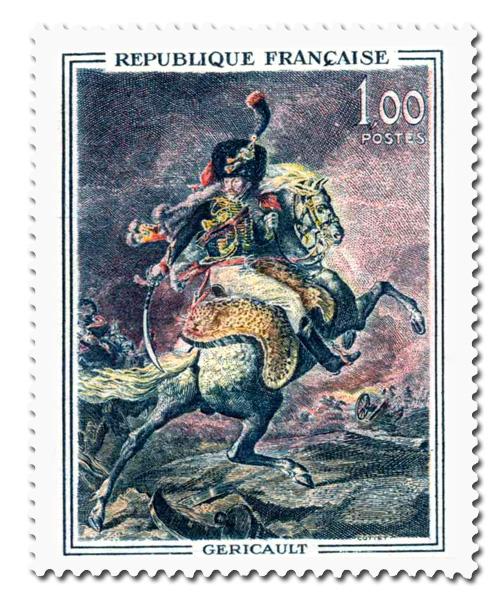 Officier de chasseurs à cheval  - Géricault (1791-1824)