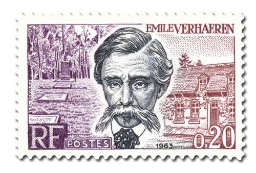 Emile Verhaeren (1855-1916) - Poète belge