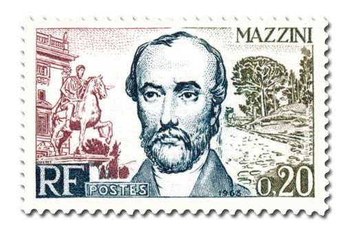 Mazzini  - Homme d'état italien