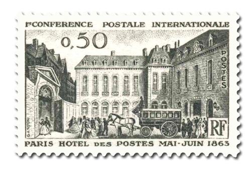 Conférence Postale internationale à Paris