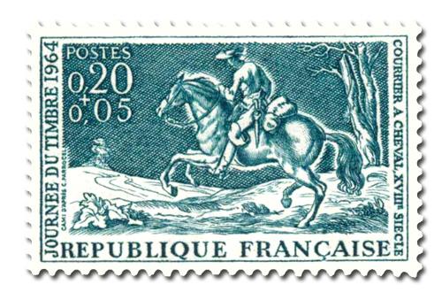 Journée du timbre 1964