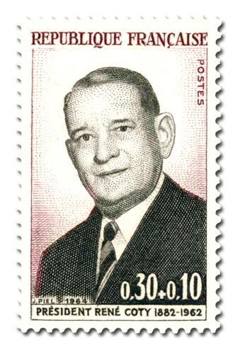 Président René Coty (1882 - 1962)