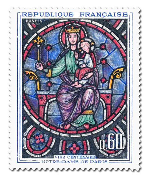 Notre Dame de Paris (Vitrail)