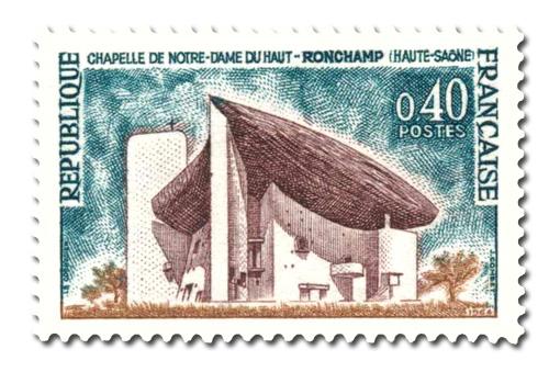 Chapelle de Notre-Dame du Haut à Ronchamp